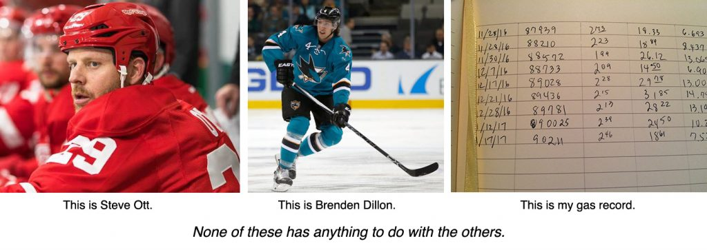 Steve Ott, Brenden Dillon & the mysterious workings of my mind.